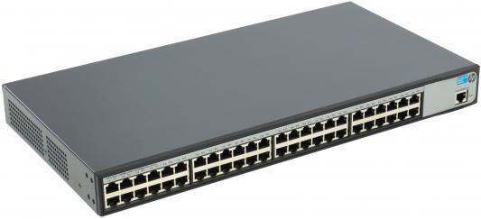 Коммутатор HP 1620-48G управляемый 48 портов 10/100/1000Mbps JG914A коммутатор hp 1820 48g управляемый 48 портов 10 100 1000mbps 4xsfp j9981a
