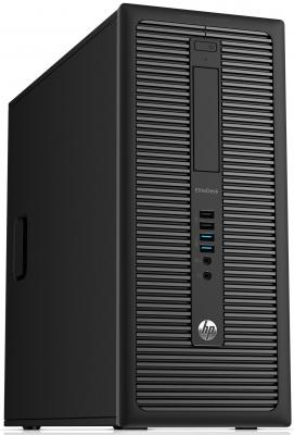 Системный блок HP EliteDesk 800 G1 MT i5-4590 3.3GHz 4Gb 500Gb HD4600 DVD-RW Win7Pro Win8Pro клавиатура мышь черный J0F08EA