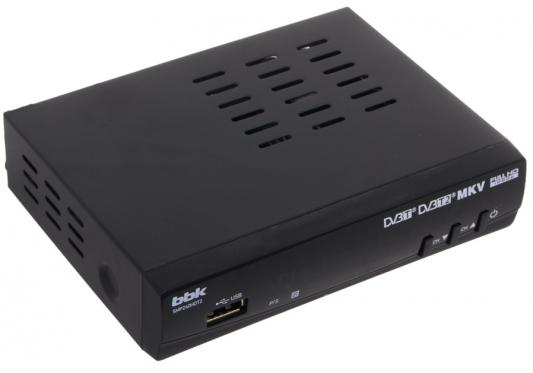 Тюнер цифровой DVB-T2 BBK SMP240HDT2 черный original dvb t satlink ws 6990 terrestrial finder 1 route dvb t modulator av hdmi ws 6990 satlink 6990 digital meter finder