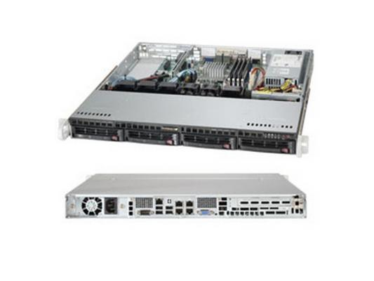 Серверная платформа Supermicro SYS-5018A-MLHN4 серверная платформа asus ts300 e8 ps4