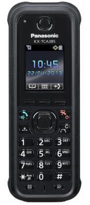 Дополнительная трубка DECT Panasonic KX-TCA385RU черный радиотелефон dect panasonic kx tgh212rub дополнительная трубка kx tgha20 черный