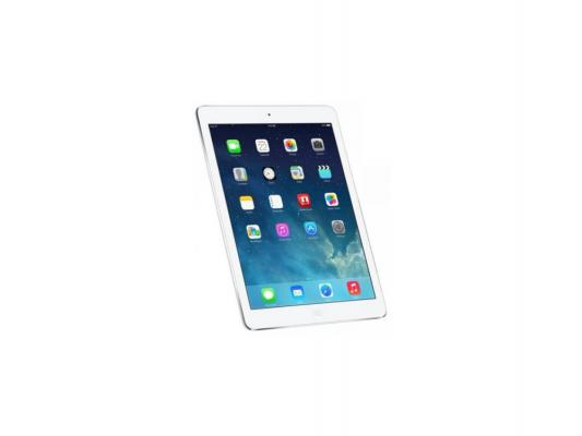 "Планшет Apple iPad Air 32Gb Cellular 9.7"" 2048x1536 A7 1.3GHz GPS IOS Silver серебристый MD795RU/B"