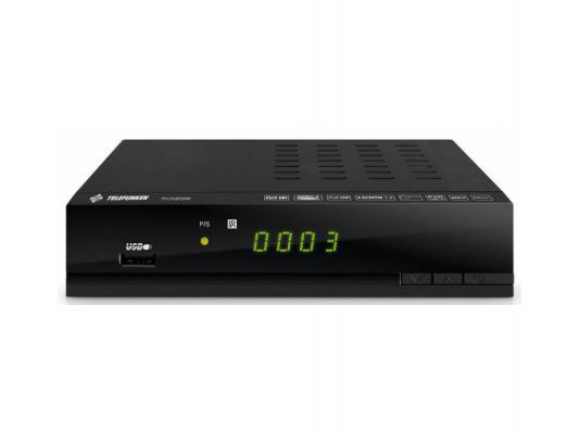 Тюнер цифровой DVB-T2 Telefunken TF-DVBT206 HDMI черный
