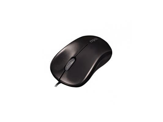 Мышь RAPOO N1130 черный USB 13742