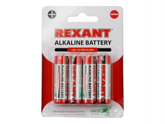 Батарейки  REXANT AAA-LR6 4шт