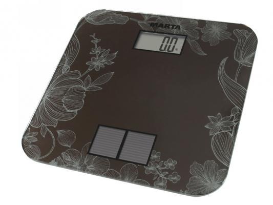 Весы напольные Marta MT-1663 титановый
