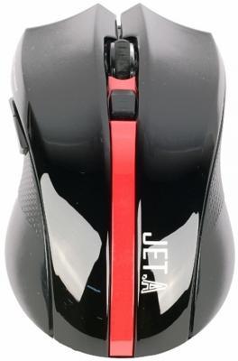 Мышь Jet.A Red Comfort OM-U40G красный
