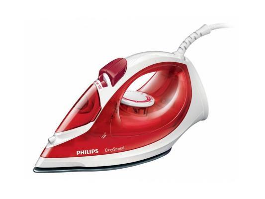 Купить со скидкой Утюг Philips GC1029/40 2000Вт пар 25г/мин удар 100г/мин бело-красный