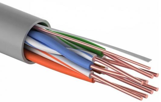 Фото - Кабель Proconnect UTP кат 5e 4 пары 24AWG CCA 305м экранированный 01-0043-2 кабель utp 2pr 24awg cat5e 305м