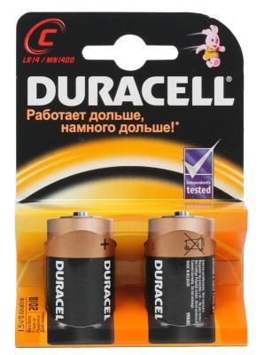 Батарейки Duracell 2BL LR14 2 шт