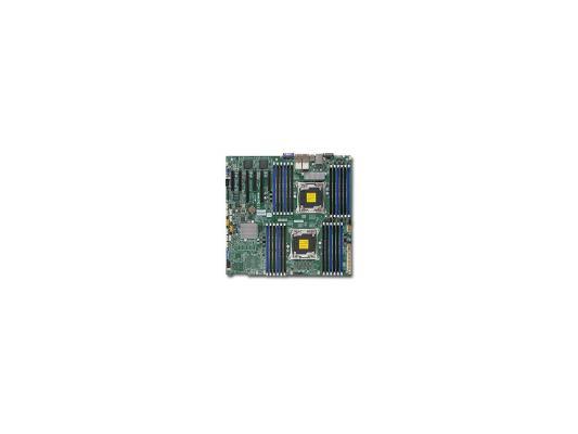 Материнская плата для ПК Supermicro MBD-X10DRI-O 2 х Socket 2011-3 C612 16xDDR4 3xPCI-E 16x 3xPCI-E 8x 10xSATAIII EATX Retail