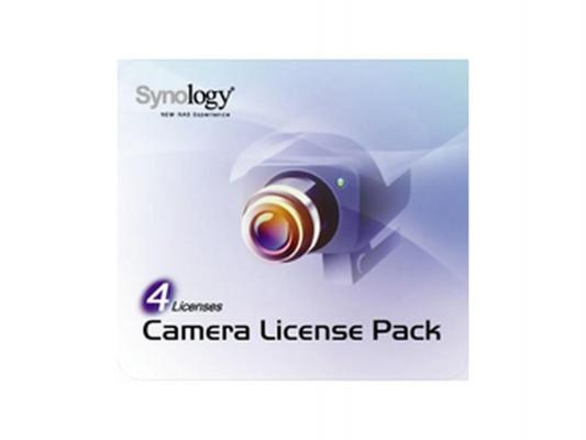 Лицензия Synology Camera License Pack 4 для подключения 4 ip-камер LicensePack4