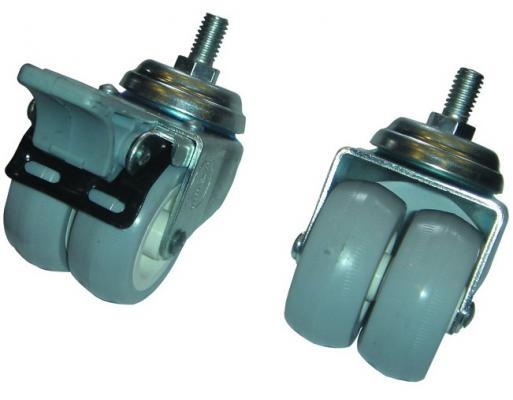 Ролики Estap M22DRTGR передняя пара фиксируемая 4шт