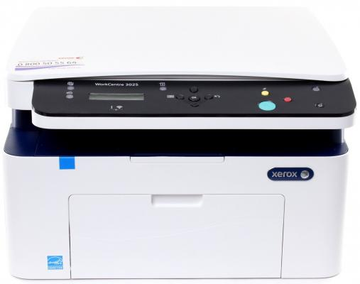 МФУ Xerox WorkCentre 3025V/BI ч/б A4 24ppm 1200x1200dpi 20ppm Wi-Fi USB мфу xerox workcentre 5021 ч б a3 20ppm 600x600dpi duplex usb 5021v b