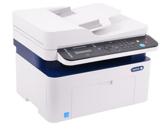 МФУ Xerox WorkCentre 3025V/NI ч/б A4 24ppm 1200x1200dpi 20ppm Ethernet Wi-Fi USB мфу xerox workcentre 3215ni ч б а4 27ppm автоподатчиком lan wi fi