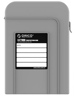 Чехол для HDD 3.5 Orico PHI-35-GY серый чехол для hdd 3 5 orico php 35 gy серый