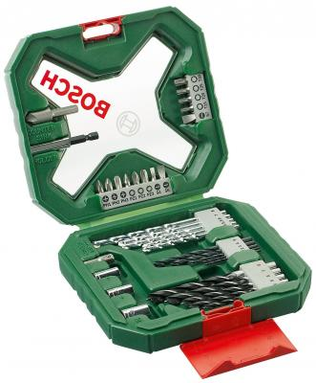 Набор бит и сверел Bosch X-line 34 34шт 2607010608 bosch x line 43 2607019613