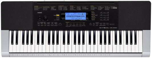 Синтезатор Casio CTK-4400 61 клавиша USB серый