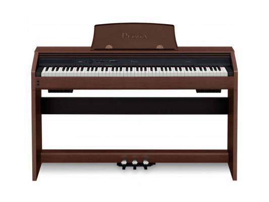 Цифровое фортепиано Casio Privia PX-760BN 88 клавиш USB коричневый casio px 760bk