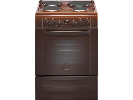 Электрическая плита Gefest ЭПНД 6140-03 0001 коричневый