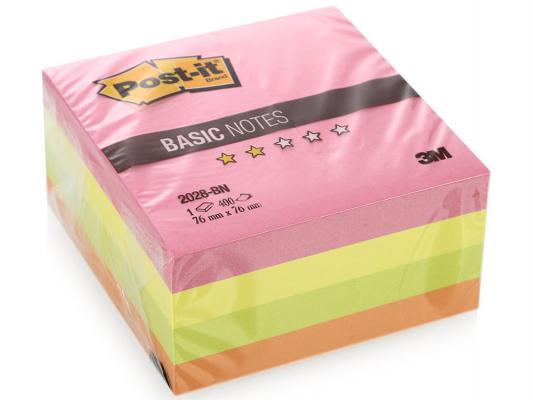 Блокнот 3M 2028-BN 76х76 мм 400 листов 7100041019