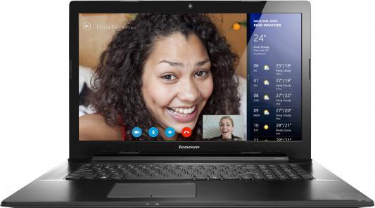 """Ноутбук Lenovo IdeaPad G7070 17.3"""" 1600x900 i5-4210U 1.7GHz 4Gb 1Tb GF820M-2Gb DVD-RW Bluetooth Wi-Fi Win 8.1SL черный 80HW001FRK"""