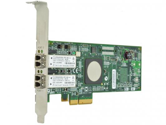 Адаптер Lenovo ThinkServer LPe16002B-M8-L PCIe 8Gb 2 Port Fibre Channel Adapter by Emulex 4XB0F28704 адаптер dell emulex lpe16002b dual port 16gb fibre channel hba full height cus kit 406 bbgh