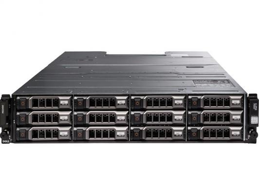 Дисковая полка Dell MD1400 x12 2x300Gb 3.5 SAS 2x600W 210-ACZB-4