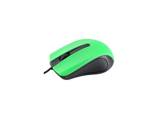 Мышь Perfeo PF-353-OP-GN черно-зеленый USB