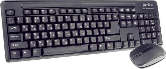 Комплект Perfeo PF-215-WL/OP черный USB