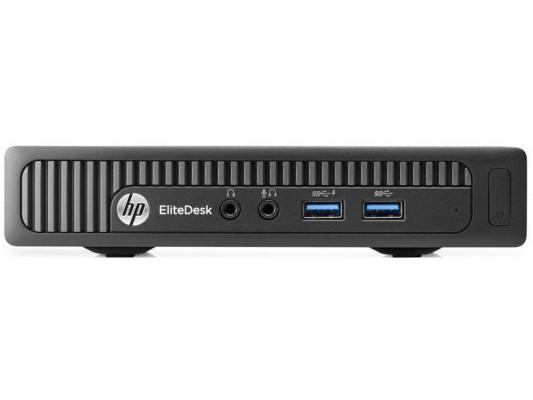 Системный блок HP EliteDesk 800 i3-4160T 3.1GHz 4Gb 500Gb HD 4400 Win7Pro Win8.1Pro клавиатура мышь черный J7D35EA  EliteDesk 800