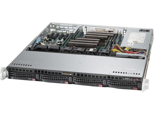 Серверная платформа Supermicro SYS-6018R-MTR серверная платформа intel r2208wt2ysr 943827