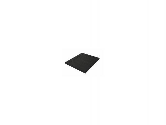 """Полка Canovate CCA-7-1006 19"""" 1U перфорированная нагрузка 50кг 800х465мм серый"""