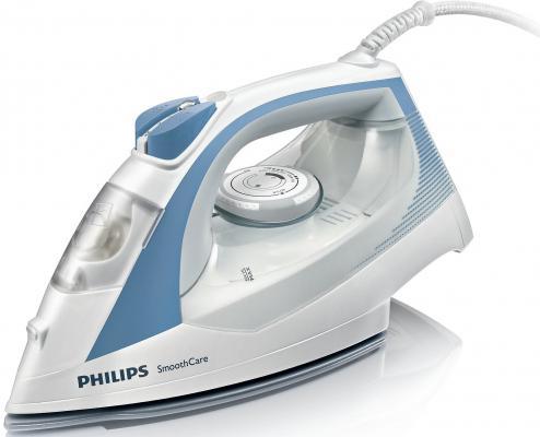 Утюг Philips GC3569/02 2400Вт пар 40г/мин удар 160г/мин бело-синий