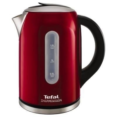 Чайник Tefal KI410530 2400 Вт 1.5 л металл красный