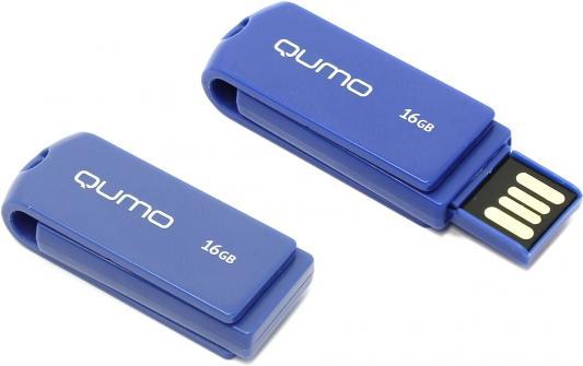 Флешка USB 16Gb QUMO 16GB Twist Cobalt QM16GUD-TW-Cobalt