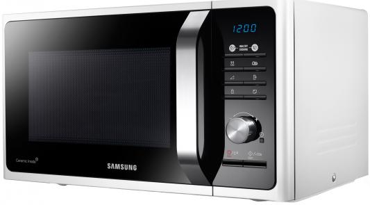 СВЧ Samsung MS23F301TAW 800 Вт белый свч samsung ms23k3515ak 800 вт чёрный