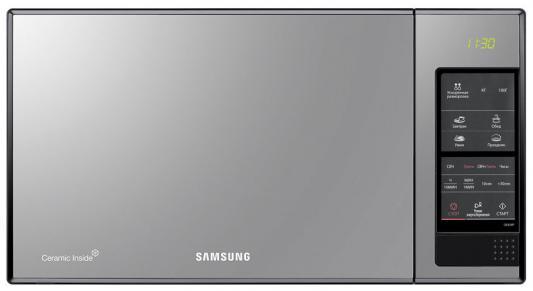 Купить СВЧ Samsung GE83XR — чёрный серебристый, серебристый, чёрный