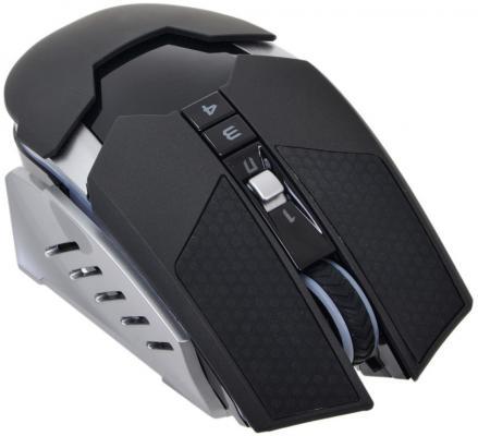 Мышь беспроводная A4TECH Bloody Warrior RT5 серый чёрный USB мышь a4tech bloody warrior rt5 black usb bloody warrior rt5 black usb