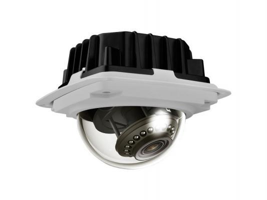 """Камера IP ivue NV432-P CMOS 1/2.5"""" 1920 x 1080 H.264 MJPEG MPEG-4 RJ-45 LAN PoE белый черный"""