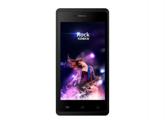 "Смартфон KENEKSI Rock черный 4.5"" 4 Гб GPS Wi-Fi"