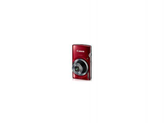 Фотоаппарат Canon Digital IXUS 165 20Mp 8xZoom красный 0152C001
