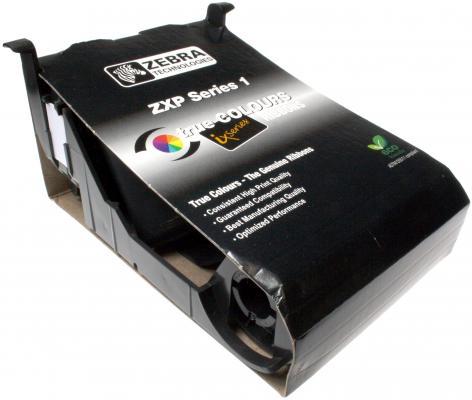 Красящая лента Zebra Load-N-Go для ZXP Series 1 черный 800011-101