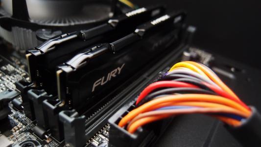 Оперативная память 8Gb (2x4Gb) PC4-17000 2133MHz DDR4 DIMM CL14 Kingston HX421C14FBK2/8