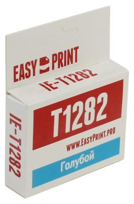 Картридж EasyPrint C13T1282 для Epson Stylus Photo  S22/SX125/Office BX305F голубой