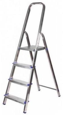Лестница-стремянка Зубр алюминиевая 4 ступени 38801-4 стремянка eurobalzo 4 ступени