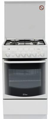 Комбинированная плита De Luxe 5040.20гэ кр белый