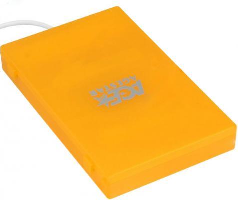 "все цены на Внешний контейнер для HDD 2.5"" SATA AgeStar SUBCP1 USB2.0 оранжевый"