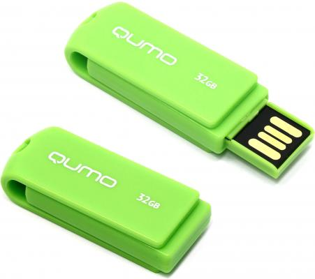 Флешка USB 32Gb QUMO Twist Pistachio USB2.0 зеленый QM32GUD-TW флешка 16гб qumo ttwist