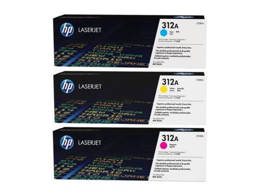 Картридж HP CF440AM 312A для Color LaserJet Pro M476 цветной 2400стр картридж t2 для hp tc h85a laserjet p1102 1102w pro m1132 m1212nf m1214nfh canon i sensys lbp6000 cartrige 725 1600 стр с чипом